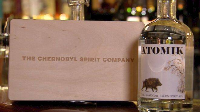 Chernobyl Spirit Company Vodka Box