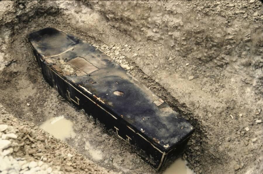 Coffin Of John Hartnell