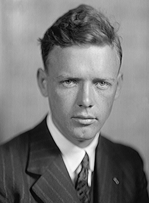 Colonel Charles Lindbergh Portrait