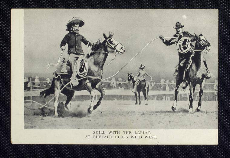 Cowboys Performing In Buffalo Bills Wild West