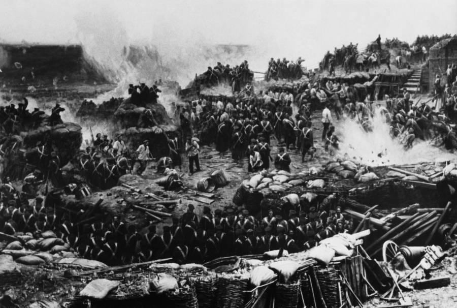 Crimean War Battle