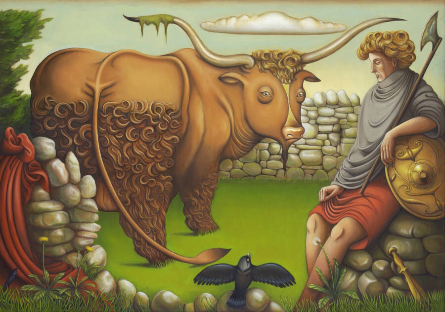 Setanta And The Bull