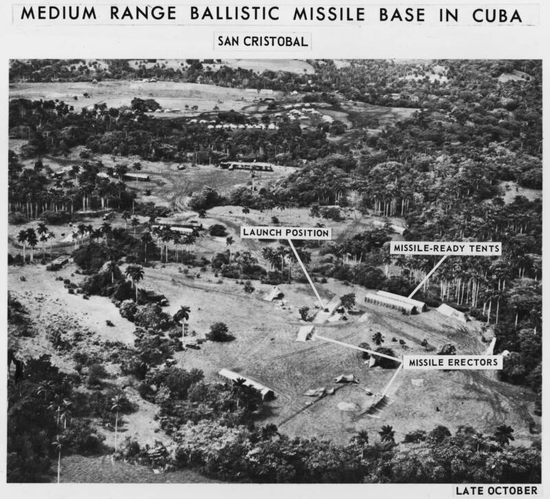 Cuban Milssile Crisis Bases