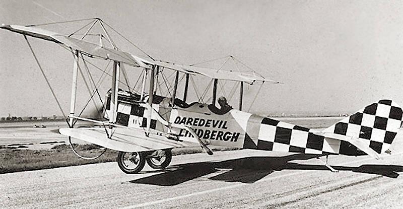 Daredevil Lindbergh Plane