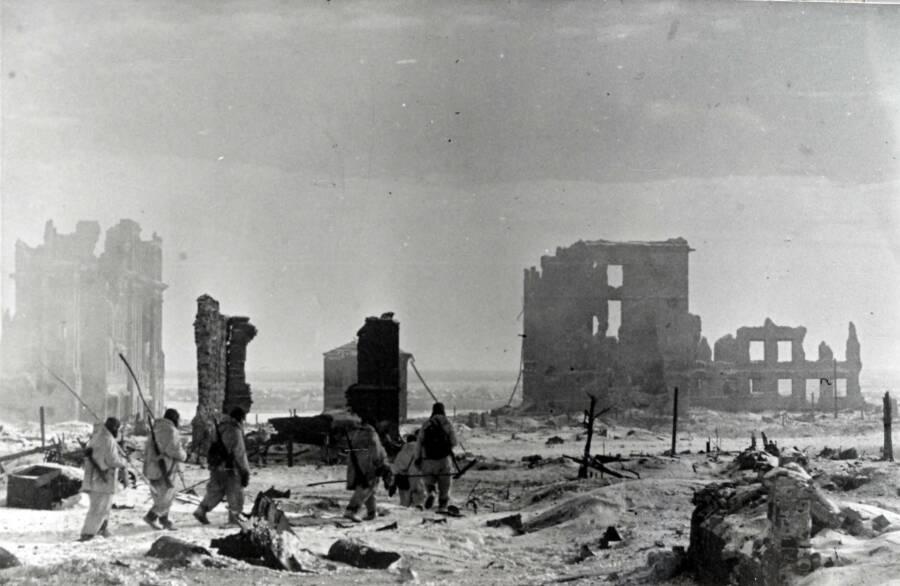 Stalingrad In Ruins
