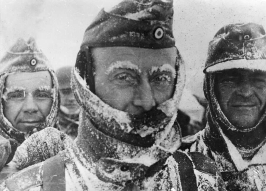 Frozen Nazi Soldiers