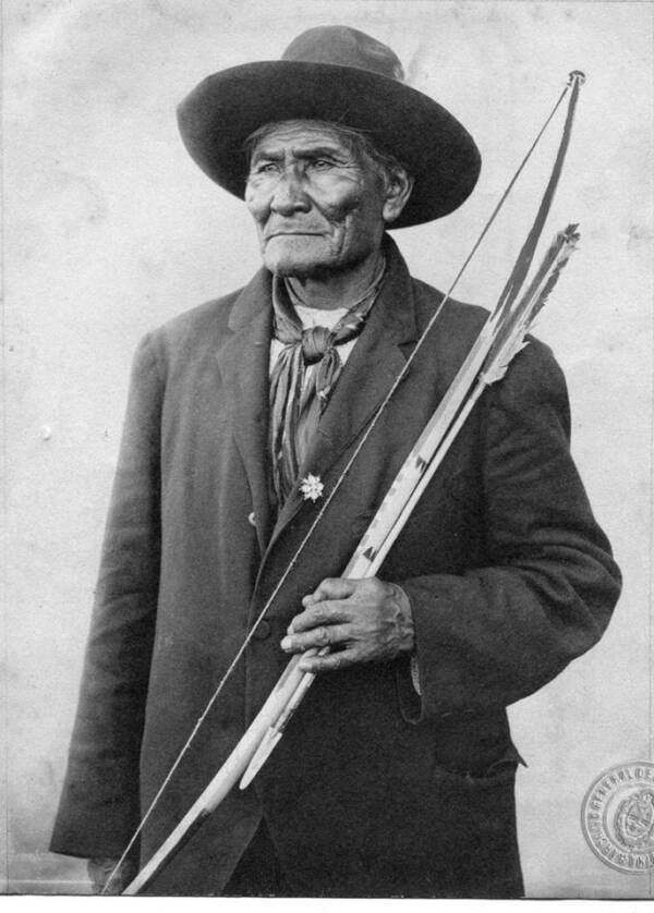 Geronimo With An Apache Bow