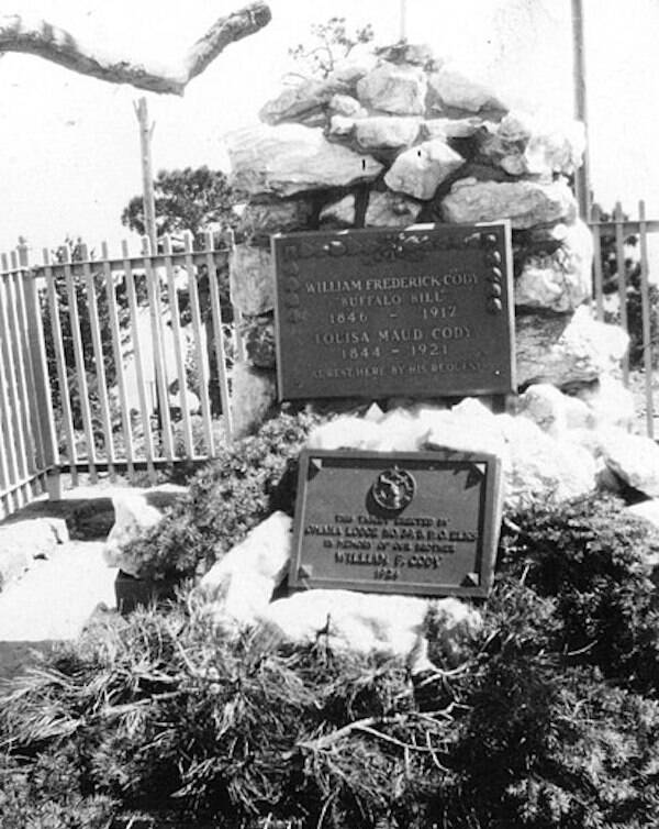 Grave Of Buffalo Bill