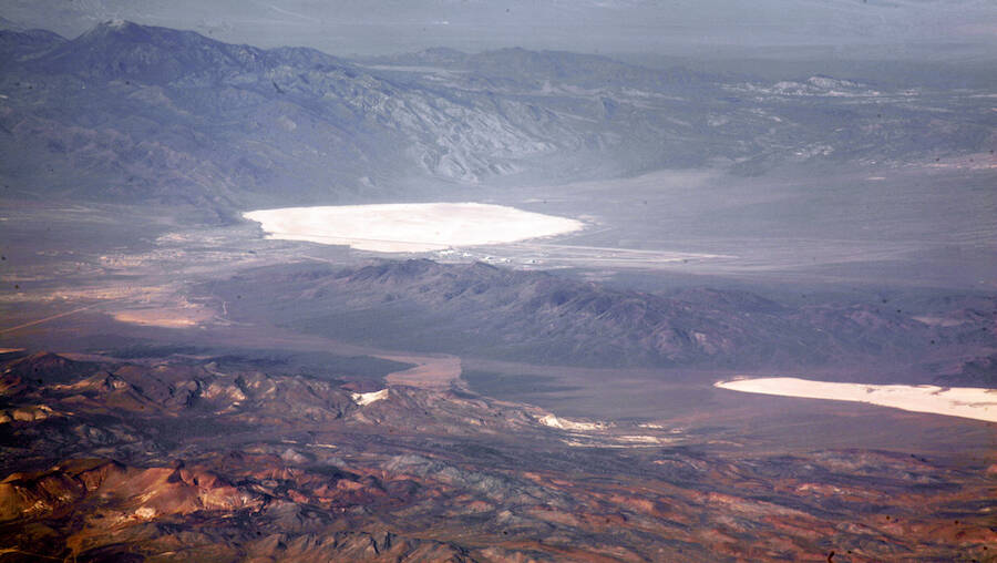 Aerial View Of Groom Lake
