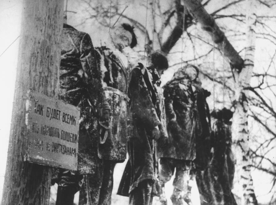 Hanging Victims On The Eastern Front