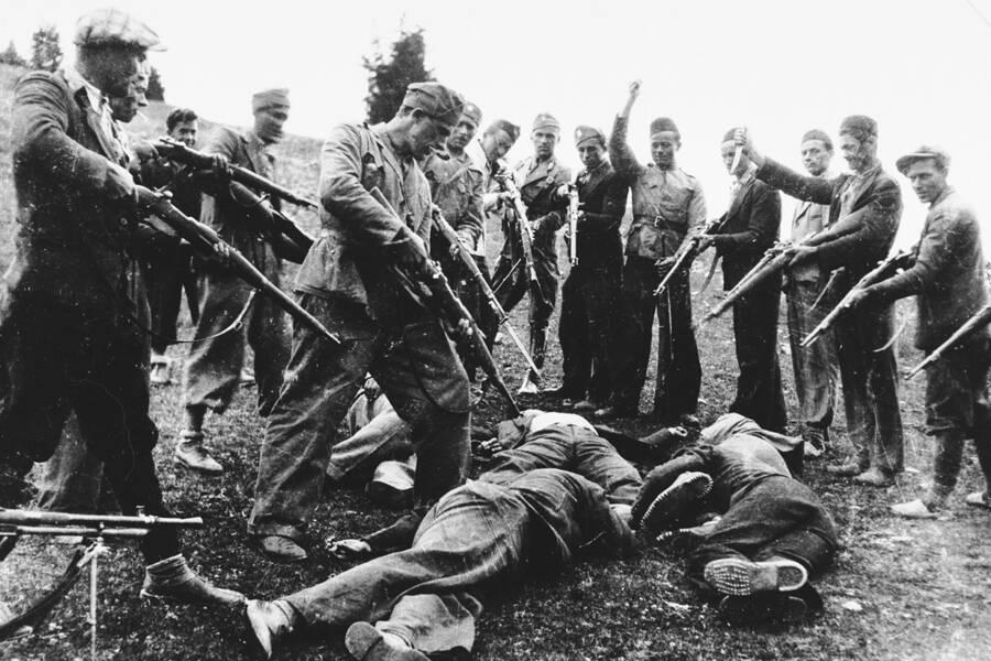 Jasenovac Concentration Camp Ustase