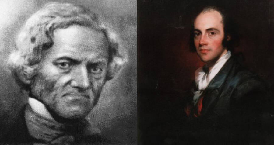 John Pierre Burr And Aaron Burr