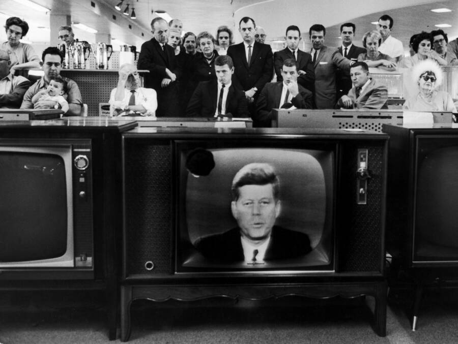 Jfk Address On Tv
