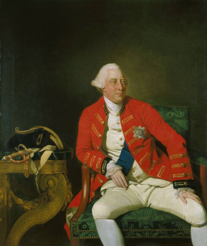 King George III Of England