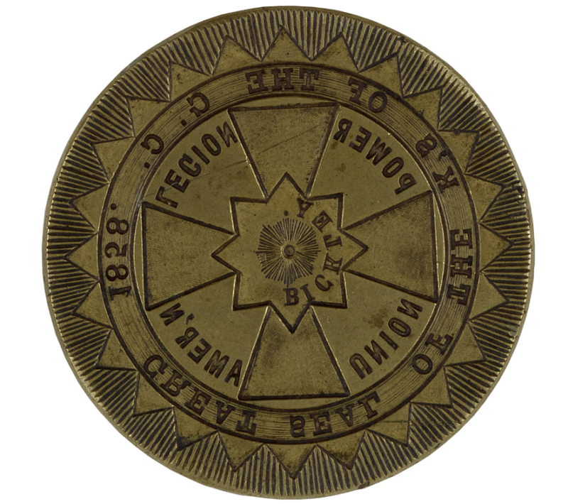 Seal Of The President Of The Knights Of The Golden Circle