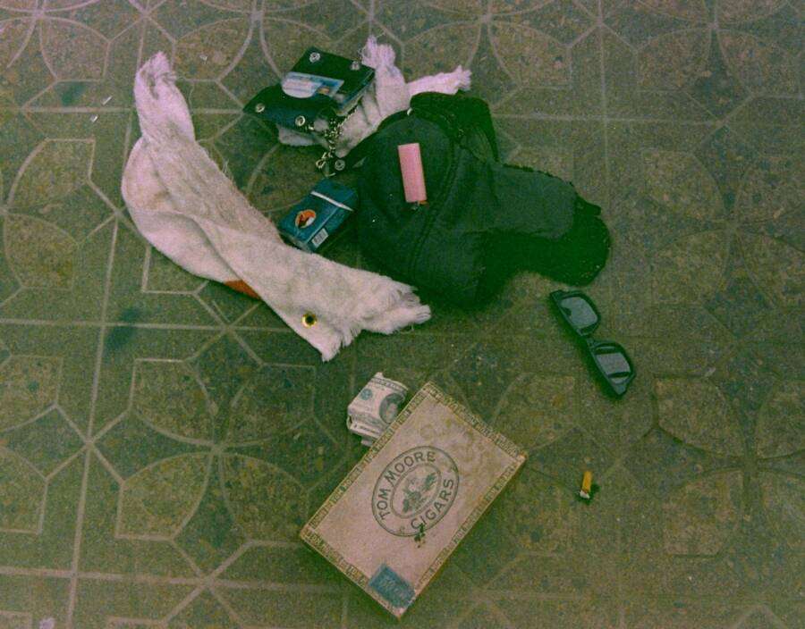 Kurt Cobain's Possessions In The Greenhouse