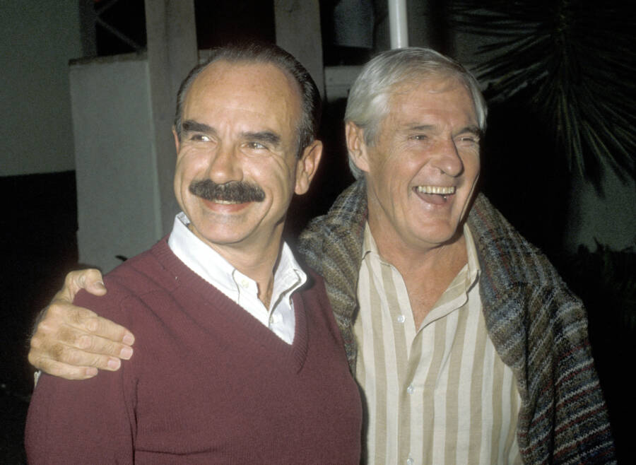 Leary With Gordon Liddy