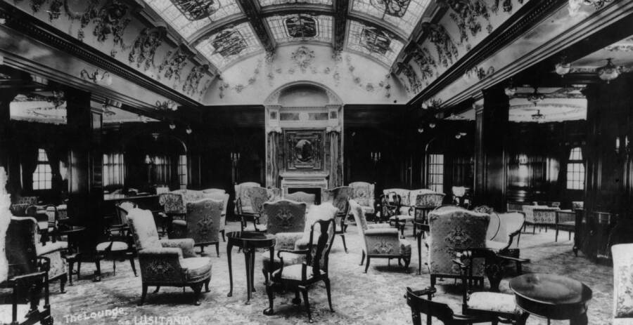 Lounge Of The Lusitania