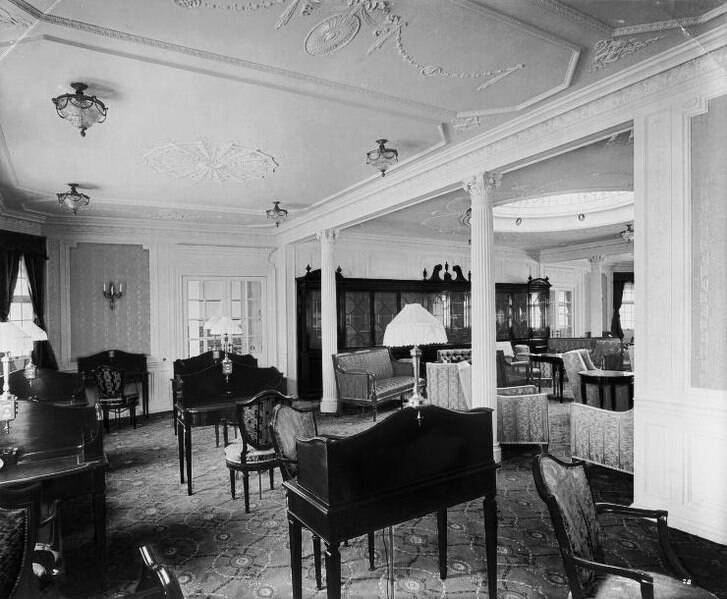 Lusitania First Class Room