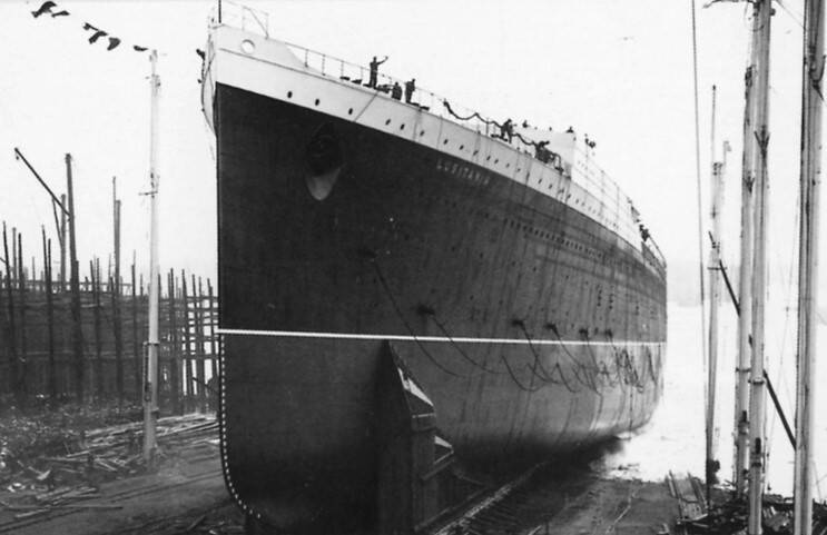 Lusitania First Launch