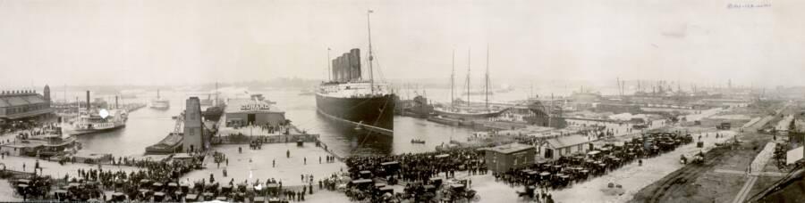 Lusitania In New York