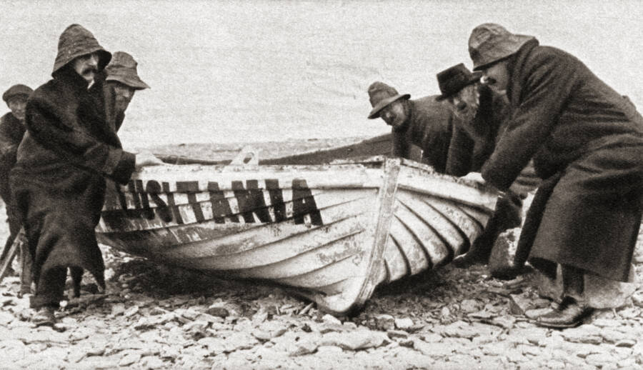 Lifeboat After U-Boat Attack