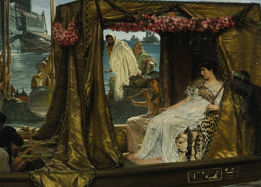 Marc Anthony Meeting Cleopatra