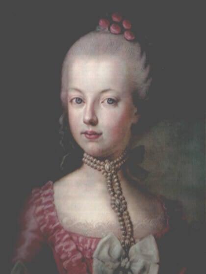 Marie Antoinette At 16