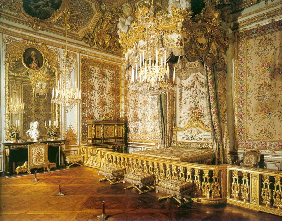 Marie Antoinette Chambers At Versaille
