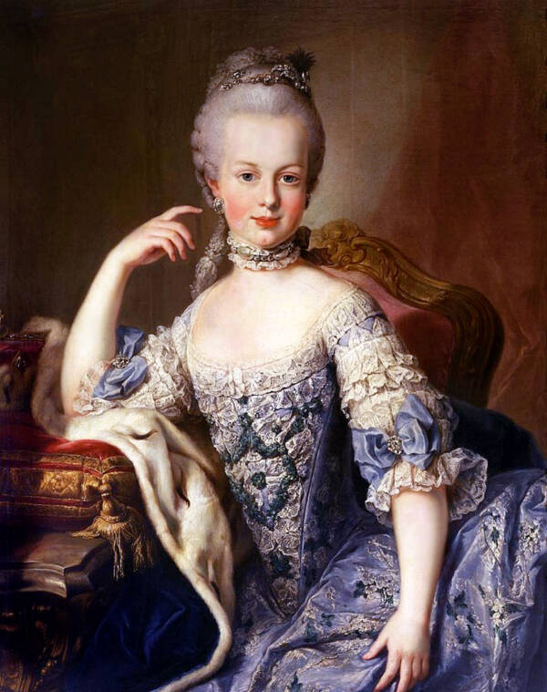 Marie Antoinette Portrait From 1760s