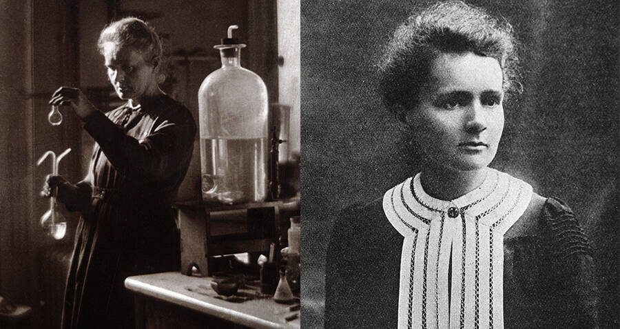 Marie Curie Portraits