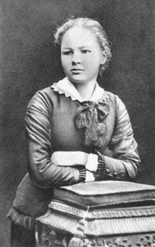Marie Curie When She Was 16