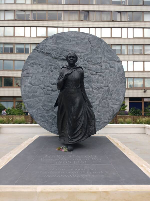 Seacole Statue In London