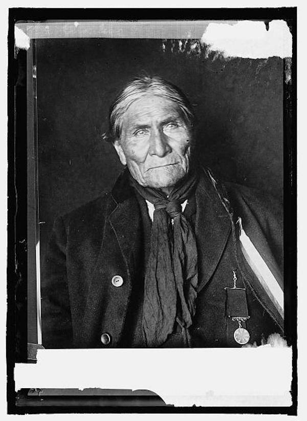 Apache Chief As An Old Man