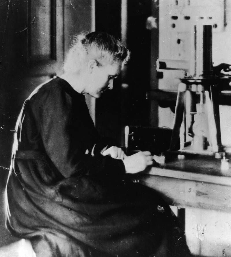 Older Marie Curie