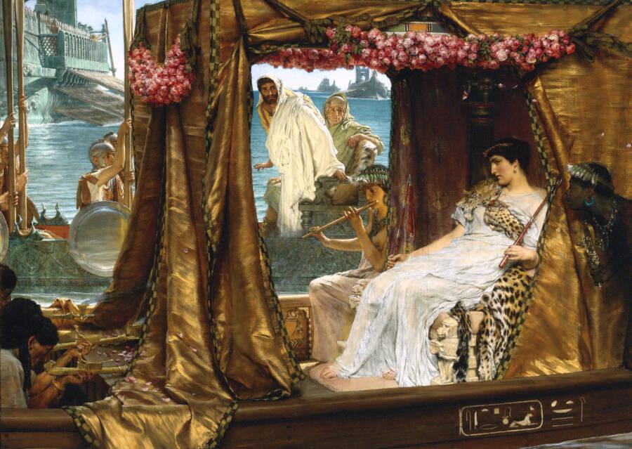 Antony Meeting Cleopatra