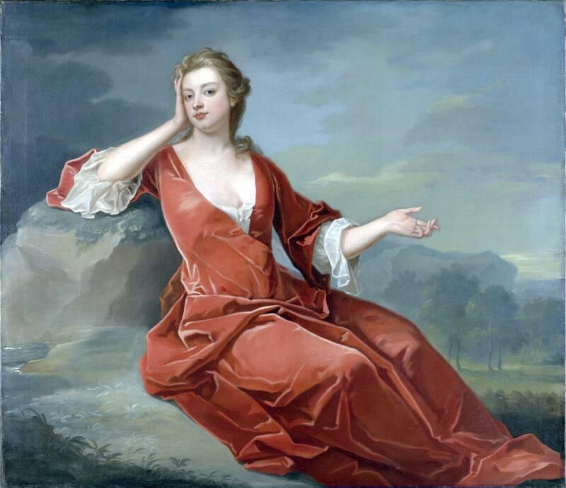 Painting Of Sarah Churchill