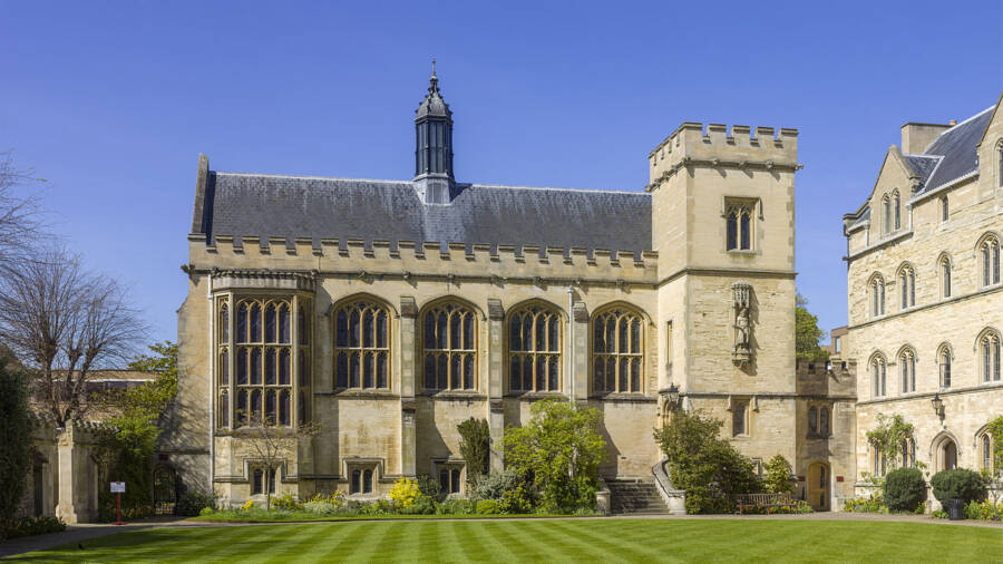 Pembroke College At Oxford