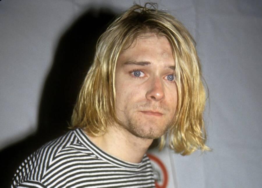 Photo Taken Before Kurt Cobain's Suicide