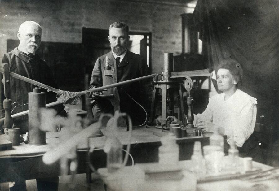 Pierre And Marie Curie Working