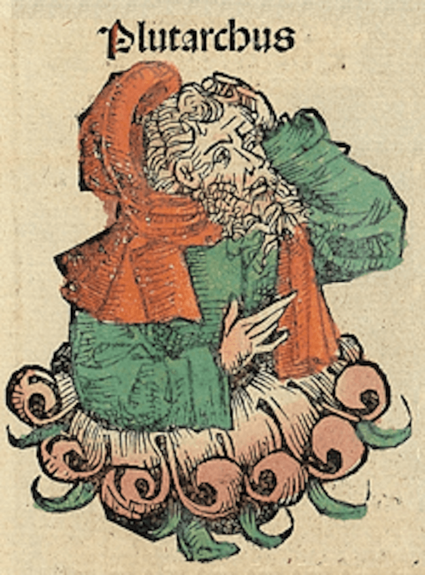Plutarch In The Nuremberg Chronicles