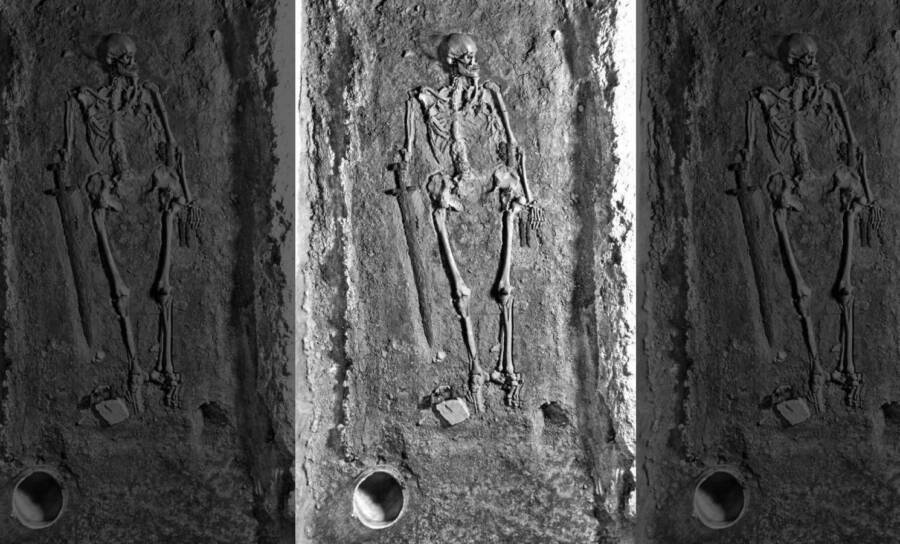 Prague Castle Warrior's Skeleton