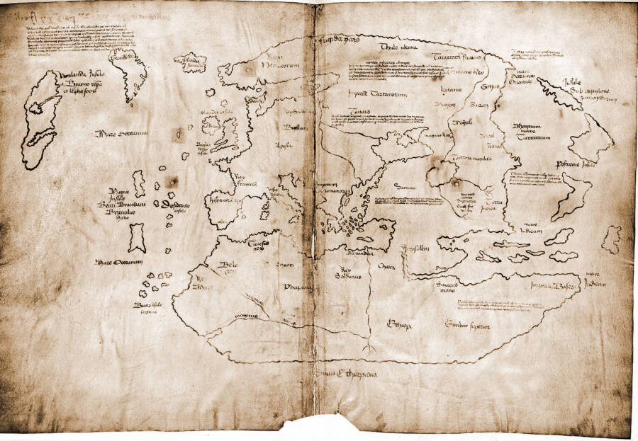500 Year Old Map Of America.Leif Erikson The Viking Who Probably Beat Columbus To The Americas