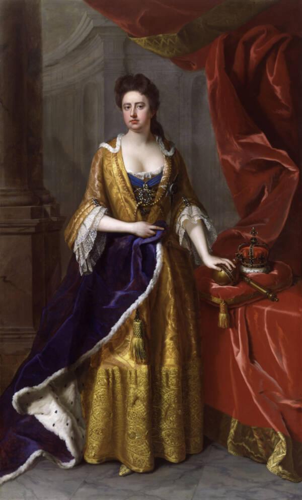 Queen Anne Portrait