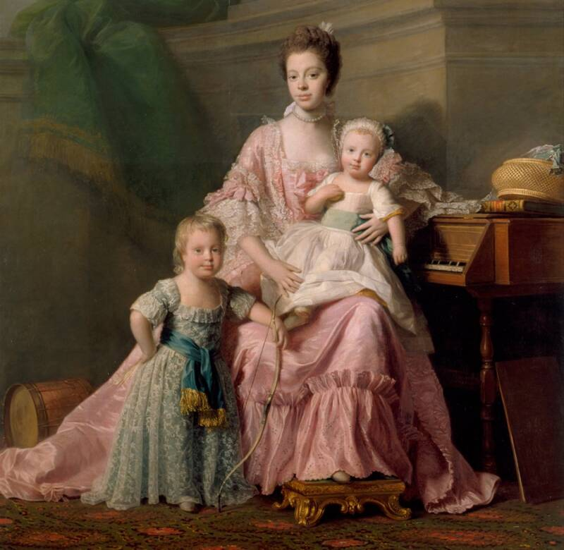 Queen Charlotte And The Princes