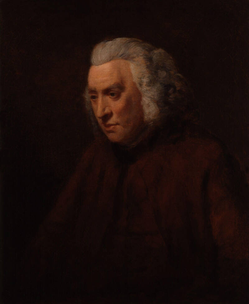 Samuel Johnson Portrait By John Opie