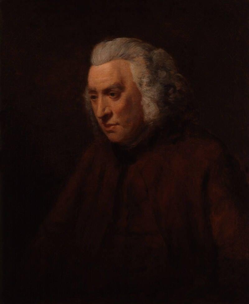 Samuel Johnson Portrait By John Opie