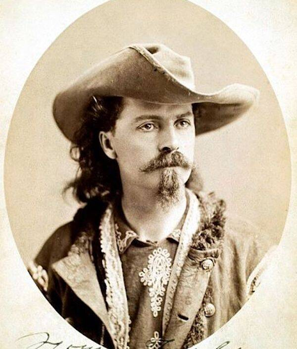 Signed Buffalo Bill Cody Photo
