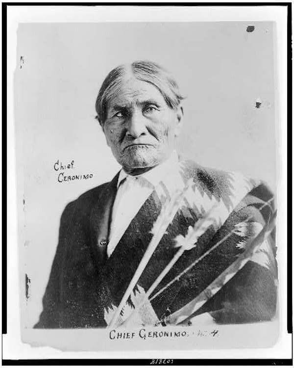 Signed Photo Of The Apache Chief