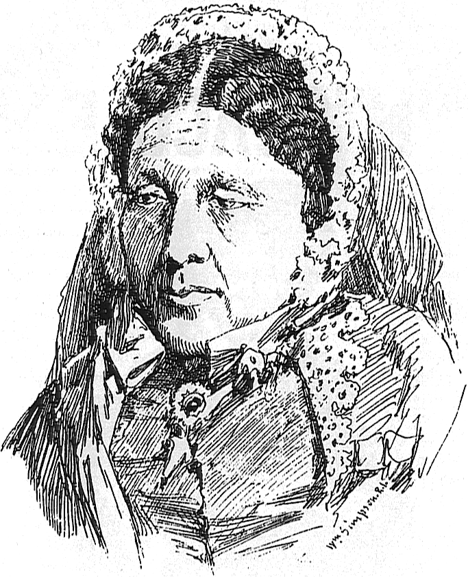 Sketch Of Mary Seacole